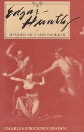 Kent State's Edgar Huntly book cover