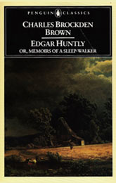 Penguin's Edgar Huntly book cover